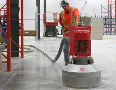 Concrete grinding by Concrete Polishing & Sealing - Ottawa
