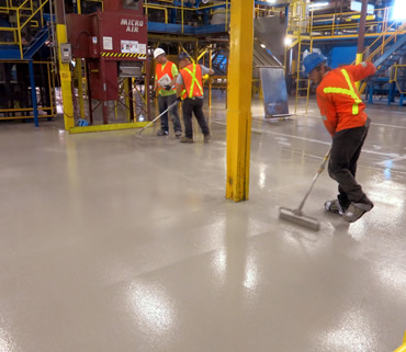 Concrete Polishing & Sealing Ltd. - CertainTeed Insulation, Canada