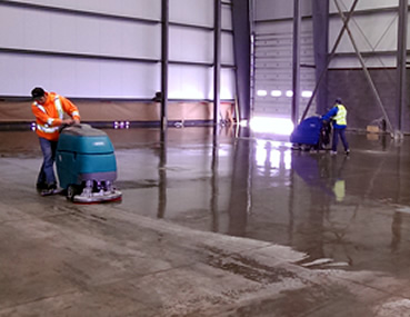 Concrete Polishing & Sealing of Ottawa sealing concrete floor in Arnprior Ontario.
